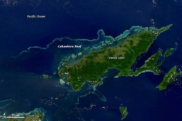 arrecife Cakauleve, Vanua Levu, Islas Fiyi