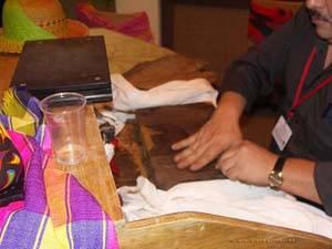Elaboración de puros en FITUR 2008