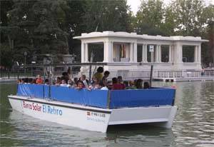 Barco solar del Retiro, Madrid