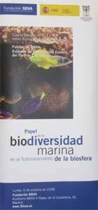 biodiversidad marina, cartel