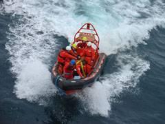 bote de la fishery patrol