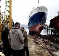 botadura buque intermares