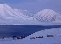 Construcción Bóveda Global de Semillas en Svalbard
