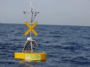 boya oceanografica en Blanes