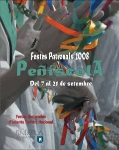 Fiestas Peñíscola 2008. Cartel oficial