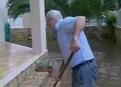 inundacion en peñismar, Peñíscola