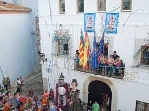 chupinazo inicio fiestas de Peñíscola