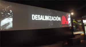 Exposición ciclo del agua, desalinización