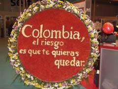 Slogan de Colombia en fitur 2008