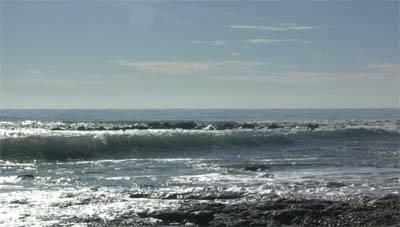 directorio del mar, portada (Mar Mediterráneo en Peñíscola)