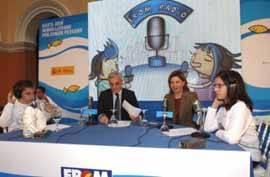 Elena Espinosa en la presentación de FROM radio