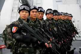 fuerzas especiales de la marina china