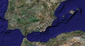 zona del estrecho de Gibraltar y Baleares