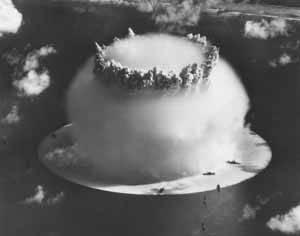 explosion BRAVO em las islas Bikini en 1946