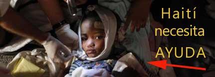 Haití necesita ayuda
