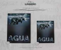 Cartel de la exposición Agua en el Parque del Retiro, Madrid