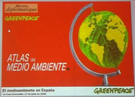 Atlas del Medio Ambiente, presentación del libro