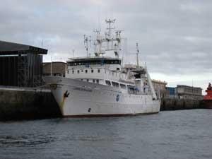 buque Cornide de Saavedra