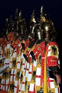 Fiestas Peñíscola, Desfile moros y cristianos