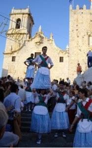 Fiestas Peñíscola, danzas en honor a la Virgen de la Ermitana