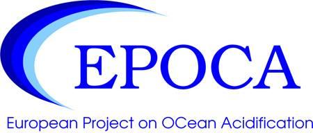 logo EPOCA - European Project on Ocean Acidification