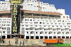 Construcción ilegal en la costa:Hotel Algarrobico