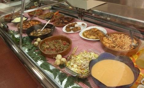 platos mediterraneos en casa Celia, Peñíscola