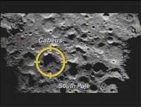 retransmisión tv NASA impacto LCROSS