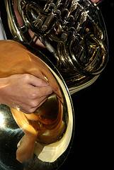 Peñíscola Fiestas, trombón dela Banda de Música