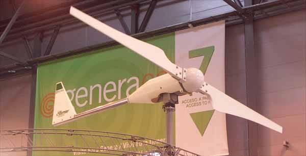 aerogenerador en Genera 2009