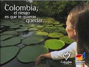 anuncio turismo de Colombia