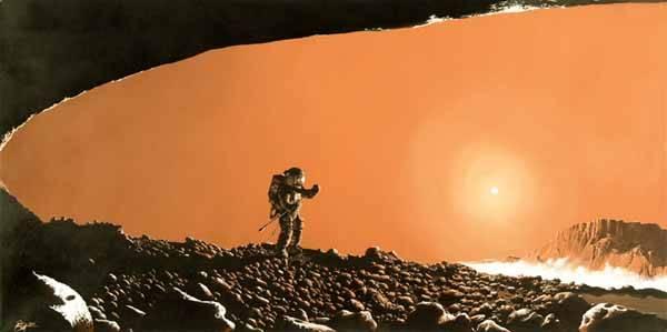 los astronautas comerán insectos en marte