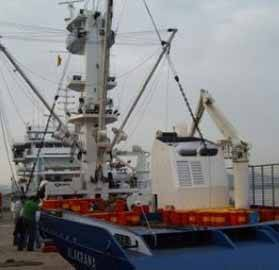 atunero alakrana en puerto