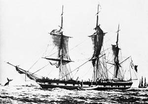 buque ballenero a vela