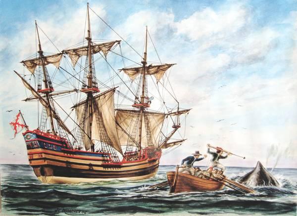 ballenero vasco de siglo XVII