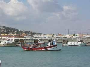 barcos pesqueros de Peñiscola