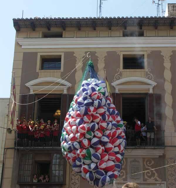 Benicarló Fiestas 2009, Pilotasso desde el Ayuntamiento