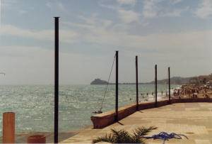 Benicarló, playa de la Caracola 1997