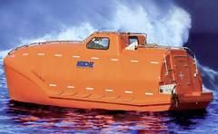 bote salvavidas, donde los piratas retuvieron a Phillips