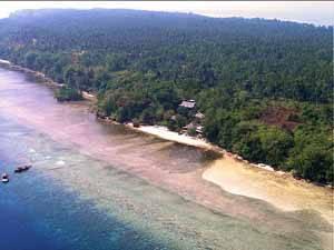 Costa de Bunaken, Indonesia