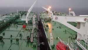 buques se transfieren petroleo