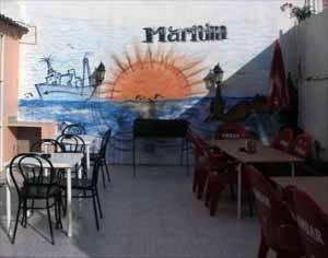 café bar Maritim, Benicarló -la terraza