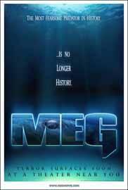 cartel de la película meg
