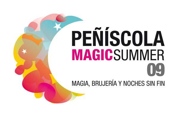 cartel Peñíscola magic summer