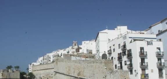 Casco Antiguo de Peñíscola, tras las murallas