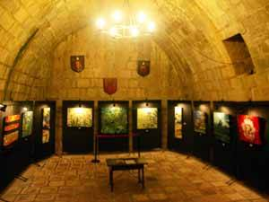 Castillo de Peñíscola, exposición pintura de Inmaculada García