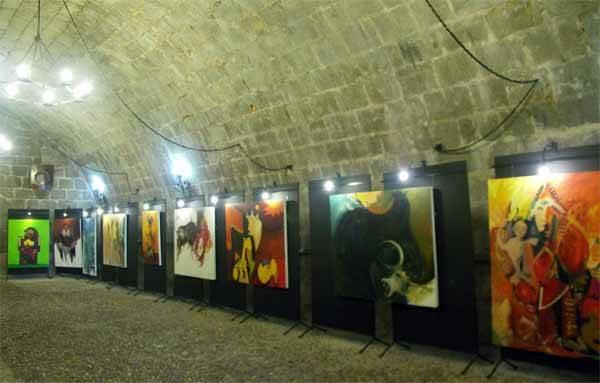 Castillo de Peníscola, exposición pintura de Lorenzo Ramírez
