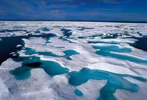 chimeneas metano en el ártico