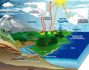 ciclo vapor agua