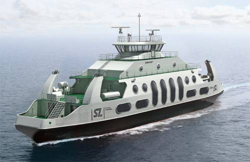 Coastal LNG Ferry